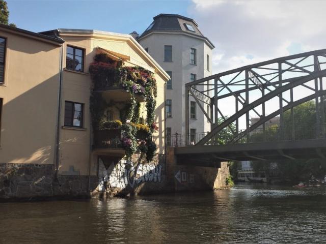 Izlet z ladjico po Leipziških kanalih